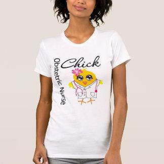 Obstetric Nurse Chick v2 T Shirts