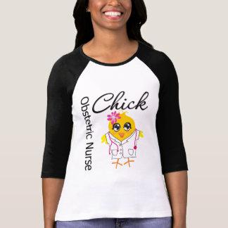 Obstetric Nurse Chick v2 Tshirts