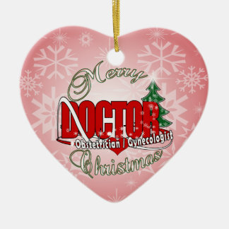 OBSTETRICIAN / GYNECOLOGIST CHRISTMAS DOCTOR CHRISTMAS ORNAMENT