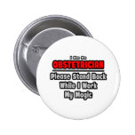 Obstetrician... Stand Back ... Work My Magic 6 Cm Round Badge