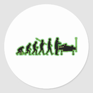Obstetrician Round Stickers