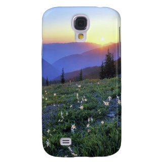 Obstruciton Point Sunset, Olympic NP, WA, USA Galaxy S4 Case
