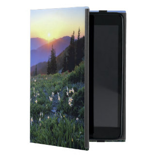 Obstruciton Point Sunset, Olympic NP, WA, USA iPad Mini Case