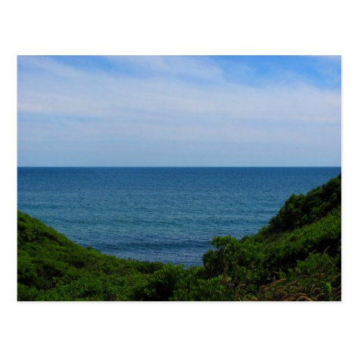 Obstructed Ocean View Postcards