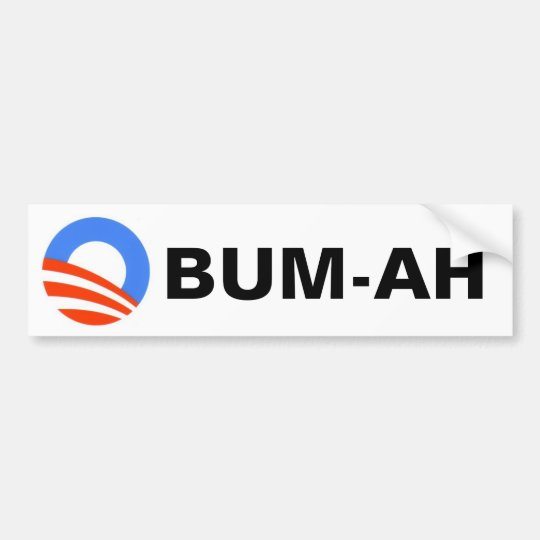 Obum-ah! Bumper Sticker