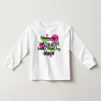 Obviously Good Looks Aunt Pink Toddler T-Shirt