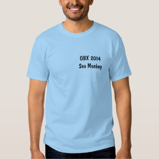 OBX Sea Monkey T-shirts