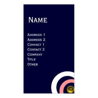 OBXTRACT gem yellow Business Card