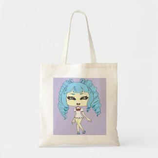 OC- Anime Chibi Budget Tote Bag