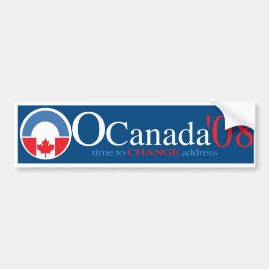 OCanada copy Bumper Sticker