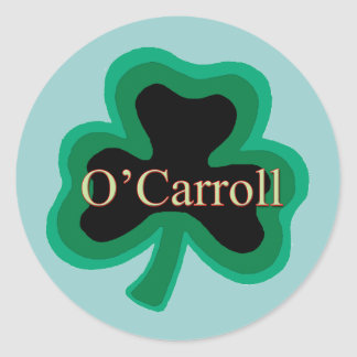 O'Carroll Irish Round Sticker