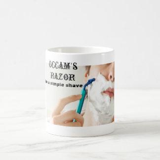 Occam's Razor Basic White Mug