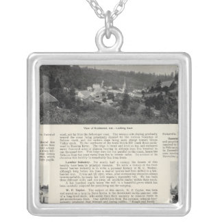 Occidental, California Silver Plated Necklace