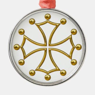 occitan cross christmas ornament