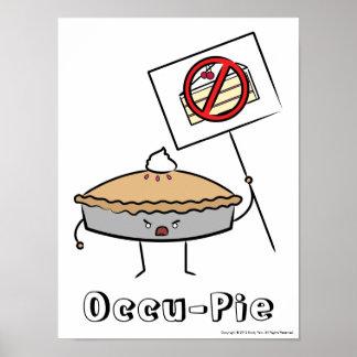 Occu-Pie Poster (White)