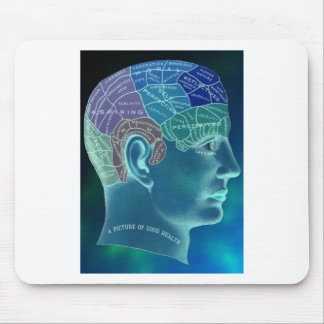 Occult Collection - Phrenology Mouse Pad