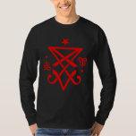 Occult Sigil of Lucifer Satanic Tee Shirts