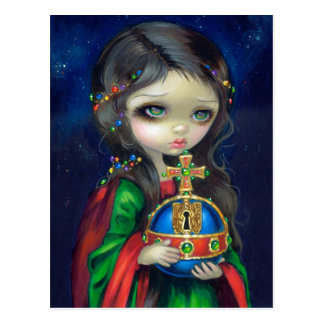 """Occulto Orbis"" Postcard"