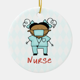 Occupation Nurse Custom Personalized Christmas Ornament