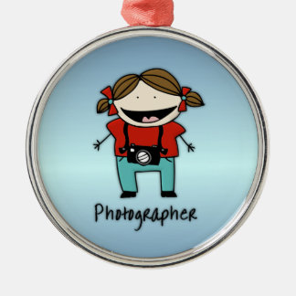 Occupation Photographer Female Christmas Ornament