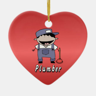 Occupation Plumber Custom Personalized Christmas Ornament