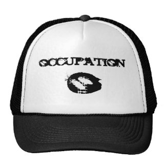 occupation truckers hat