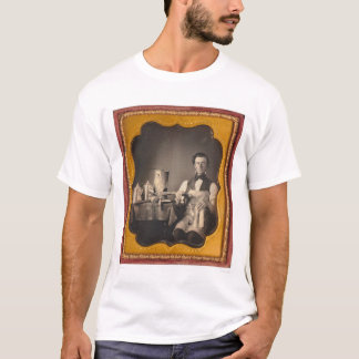 Occupational portrait of a tinsmith... (40027) T-Shirt