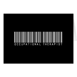 Occupational Therapist Bar Code Cards