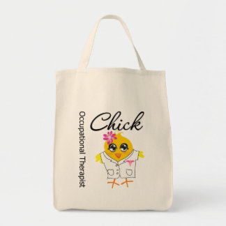 Occupational Therapist Chick Canvas Bag