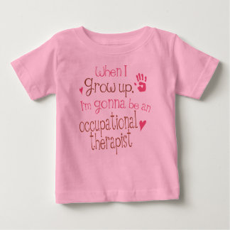 Occupational Therapist (Future) Infant Baby T-Shir Tshirt
