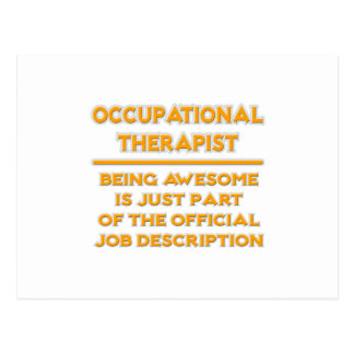 Occupational Therapist .. Official Job Description Postcard
