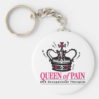 Occupational Therapist - Queen of Pain Basic Round Button Key Ring