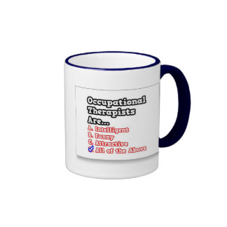 Occupational Therapist Ringer Mug