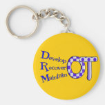 Occupational Therapist T-Shirts and Gifts Key Chains