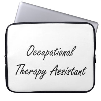 Occupational Therapy Assistant Artistic Job Design Computer Sleeves