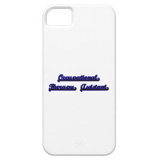 Occupational Therapy Assistant Classic Job Design iPhone 5 Cases