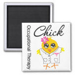 Occupational Therapy Chick Refrigerator Magnet