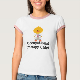 Occupational Therapy Chick Ringer Tshirt