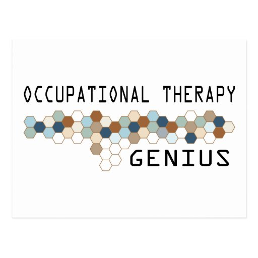 Occupational Therapy Genius Postcard