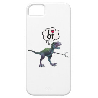 Occupational Therapy Happy Dinosaur iPhone 5 Case