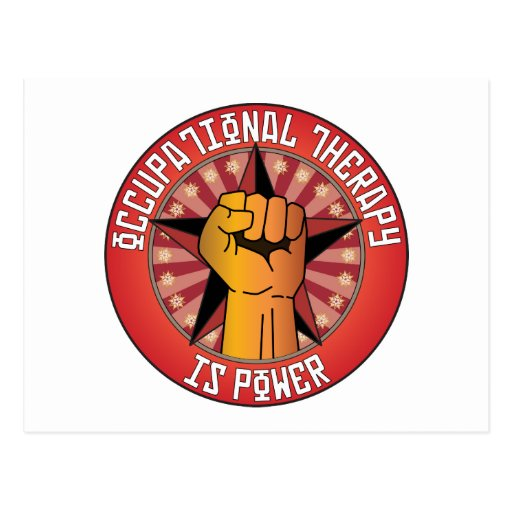 Occupational Therapy Is Power Post Cards