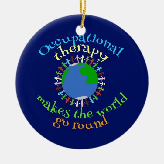 Occupational Therapy Makes the World Go Round Christmas
