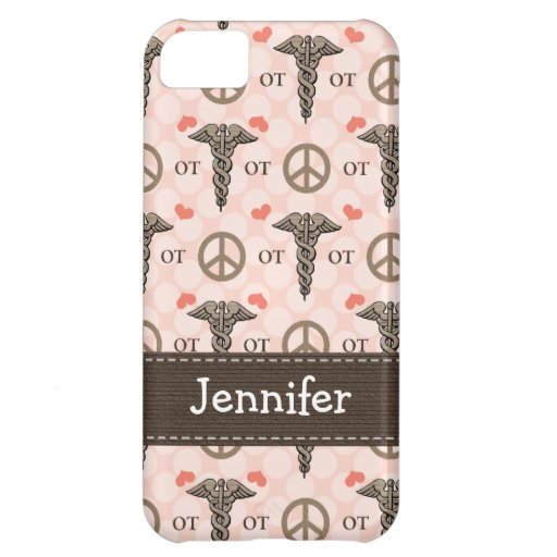 Occupational Therapy OT Caduceus Case For iPhone 5C