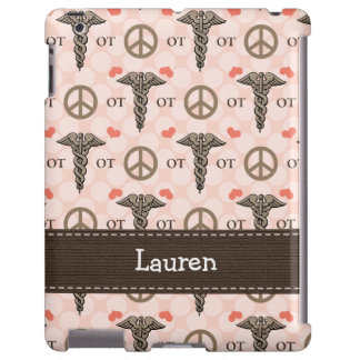 Occupational Therapy OT Caduceus iPad Case