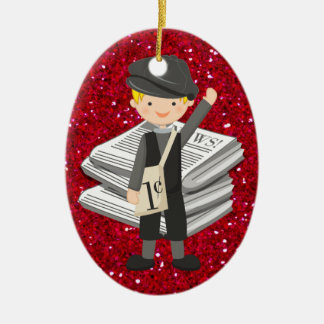 Occupations - Newspaper - SRF Christmas Ornament
