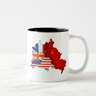 Occupied Berlin Two-Tone Coffee Mug