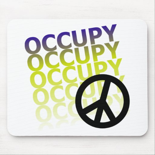 OCCUPY58 MOUSE PAD