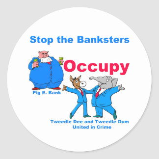 Occupy #2 sticker