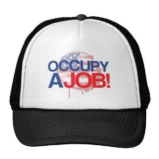 OCCUPY A JOB MESH HAT