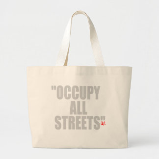 OCCUPY ALL STREETS CANVAS BAG